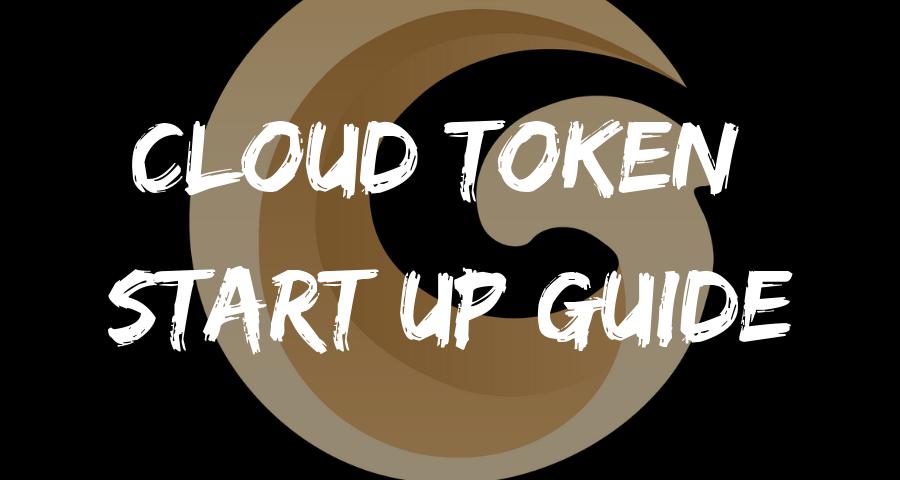 Cloud Token Start Up Guide Instruction